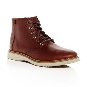 TOMS lace up boots
